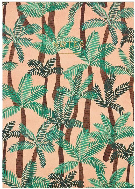 Mini Palm Trees Notizbuch