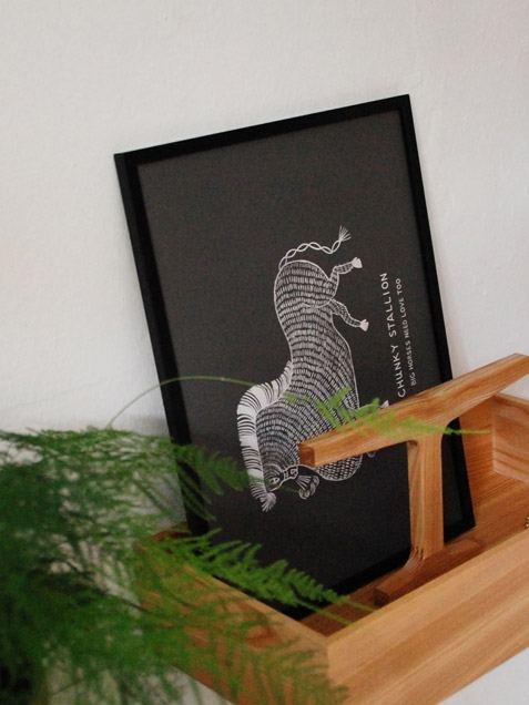 Chunky Stallion Poster (50 x 70cm)
