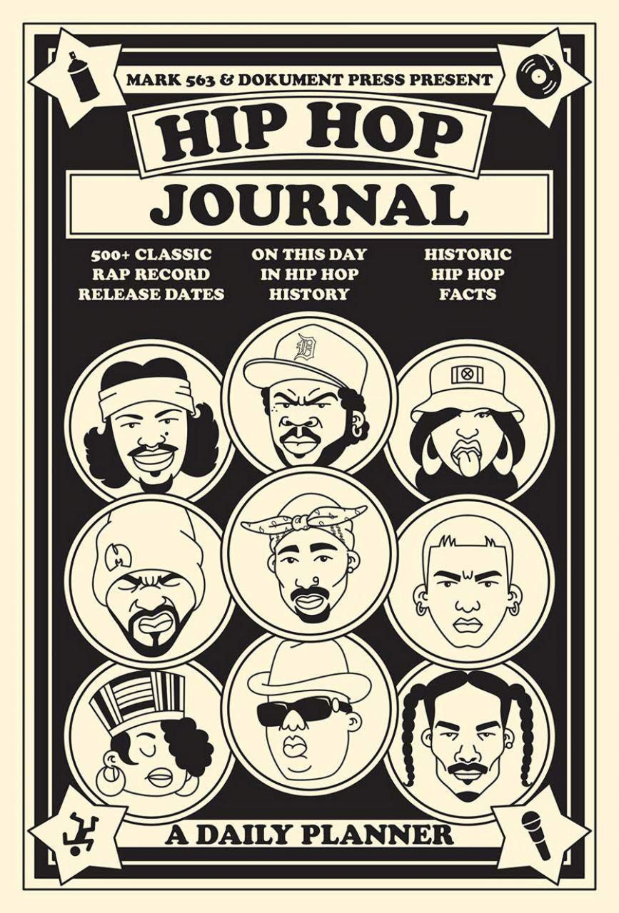 Hip Hop Journal - A Daily Planner