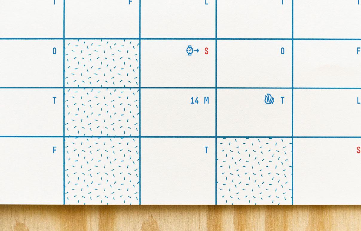 Year Calendar 2020 (50 x 70cm)