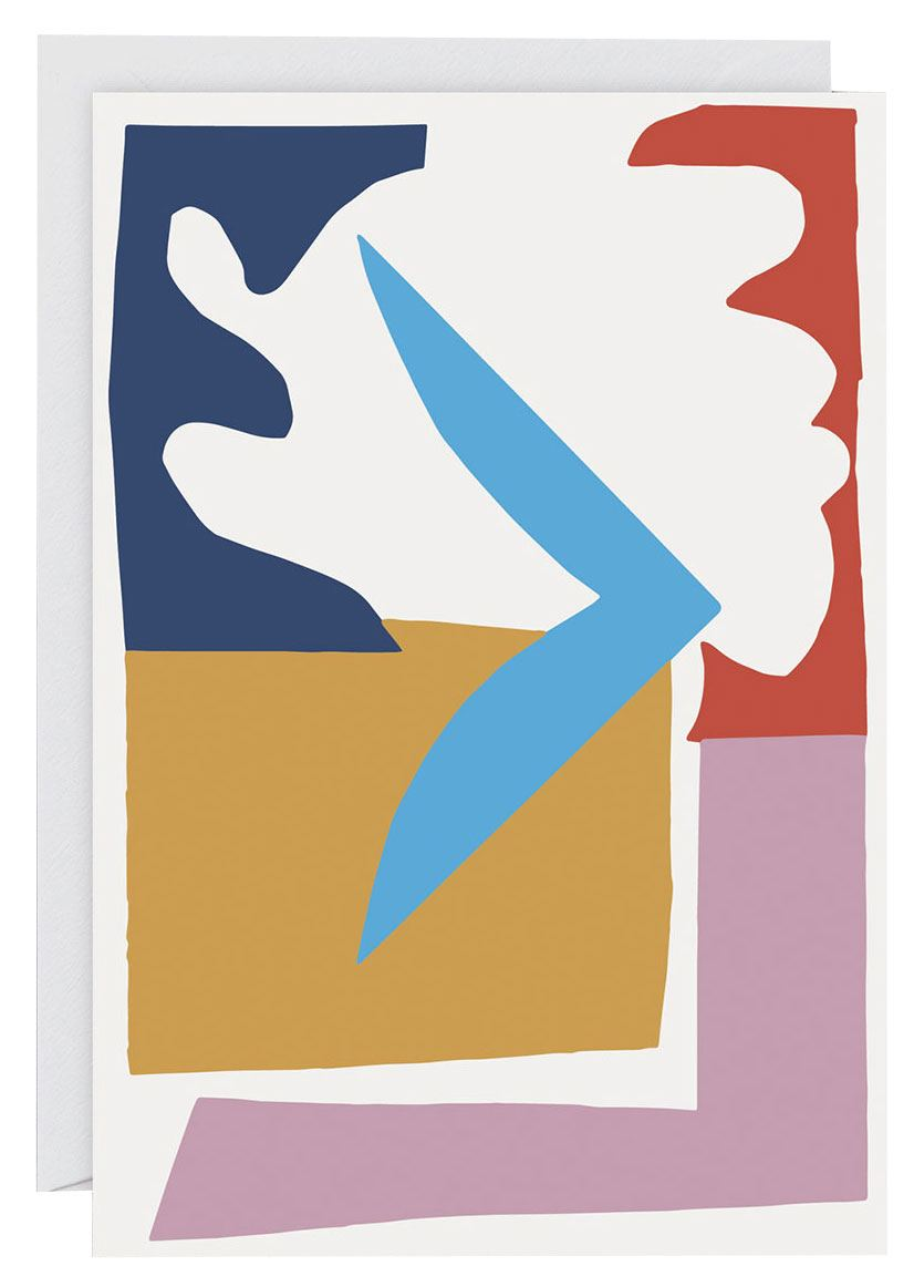 Abstract #9 Klappkarte