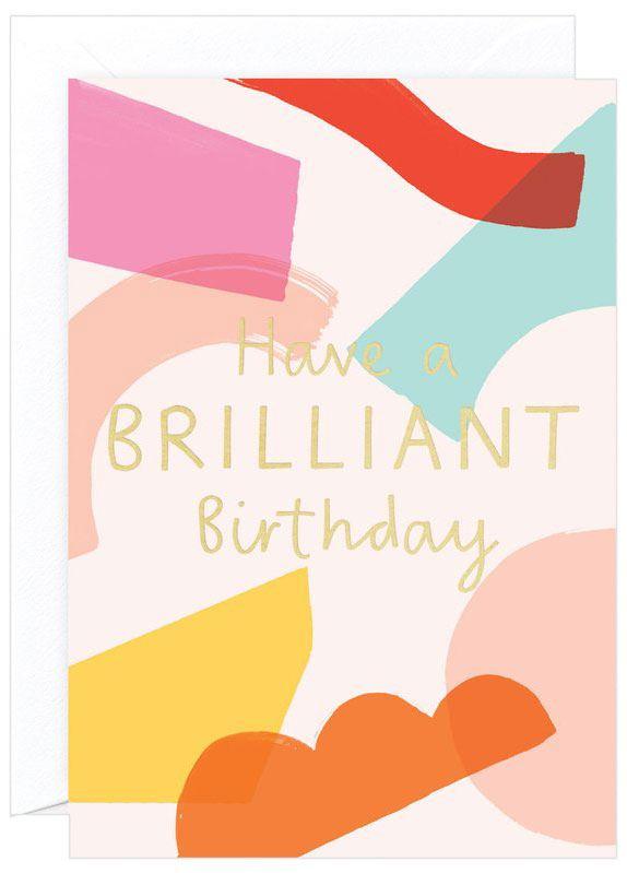 Brilliant Birthday Karte