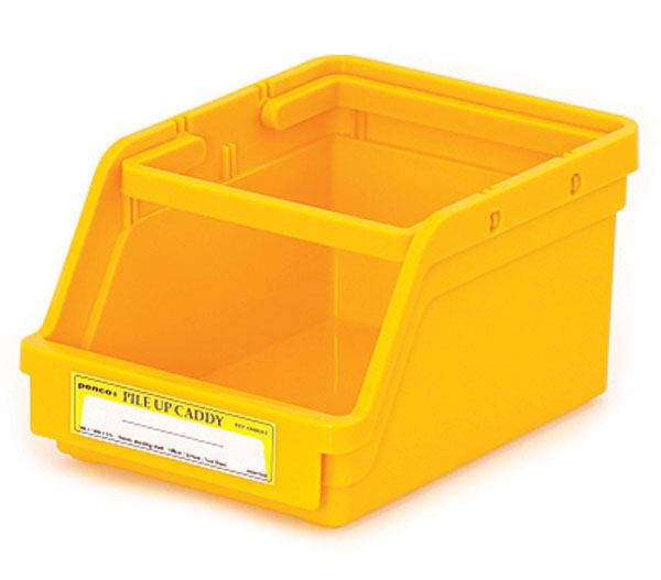PENCO Pile Up Caddy Yellow