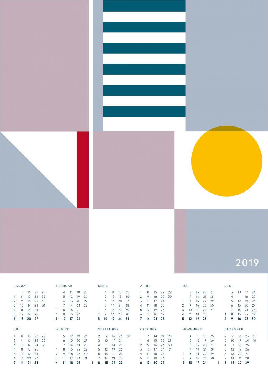 Kalender 2019 Seezeichen 2