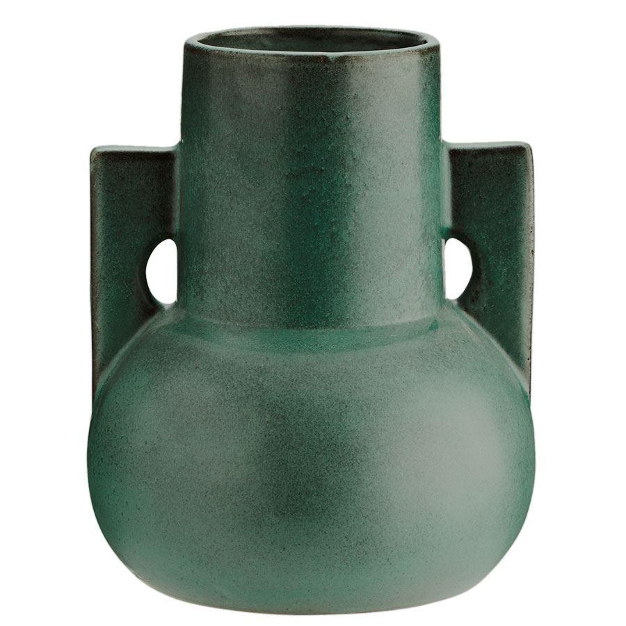 Vase Terracotta Green