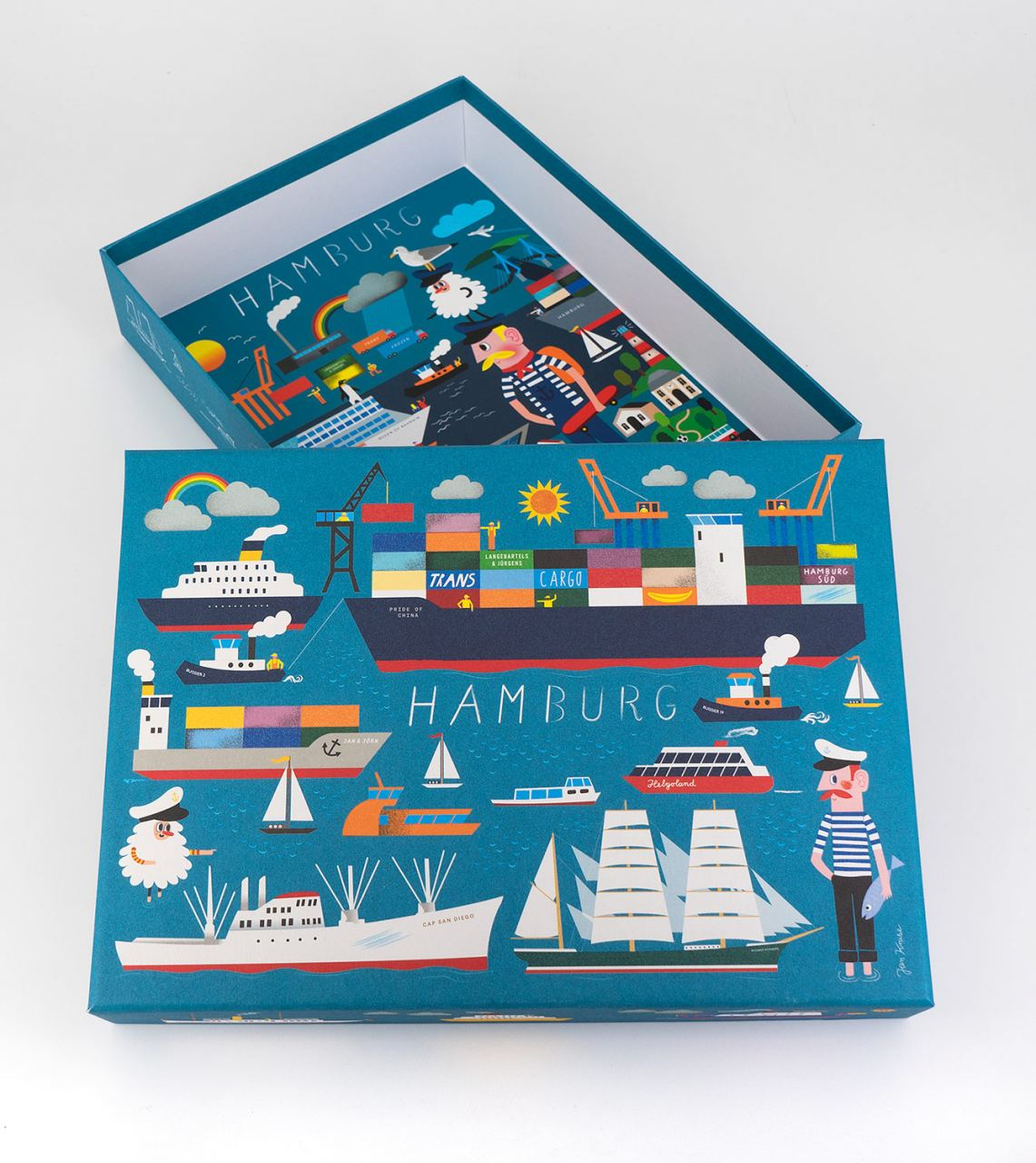 Hamburg Box (inkl. Fine Art Print) Limited Edition