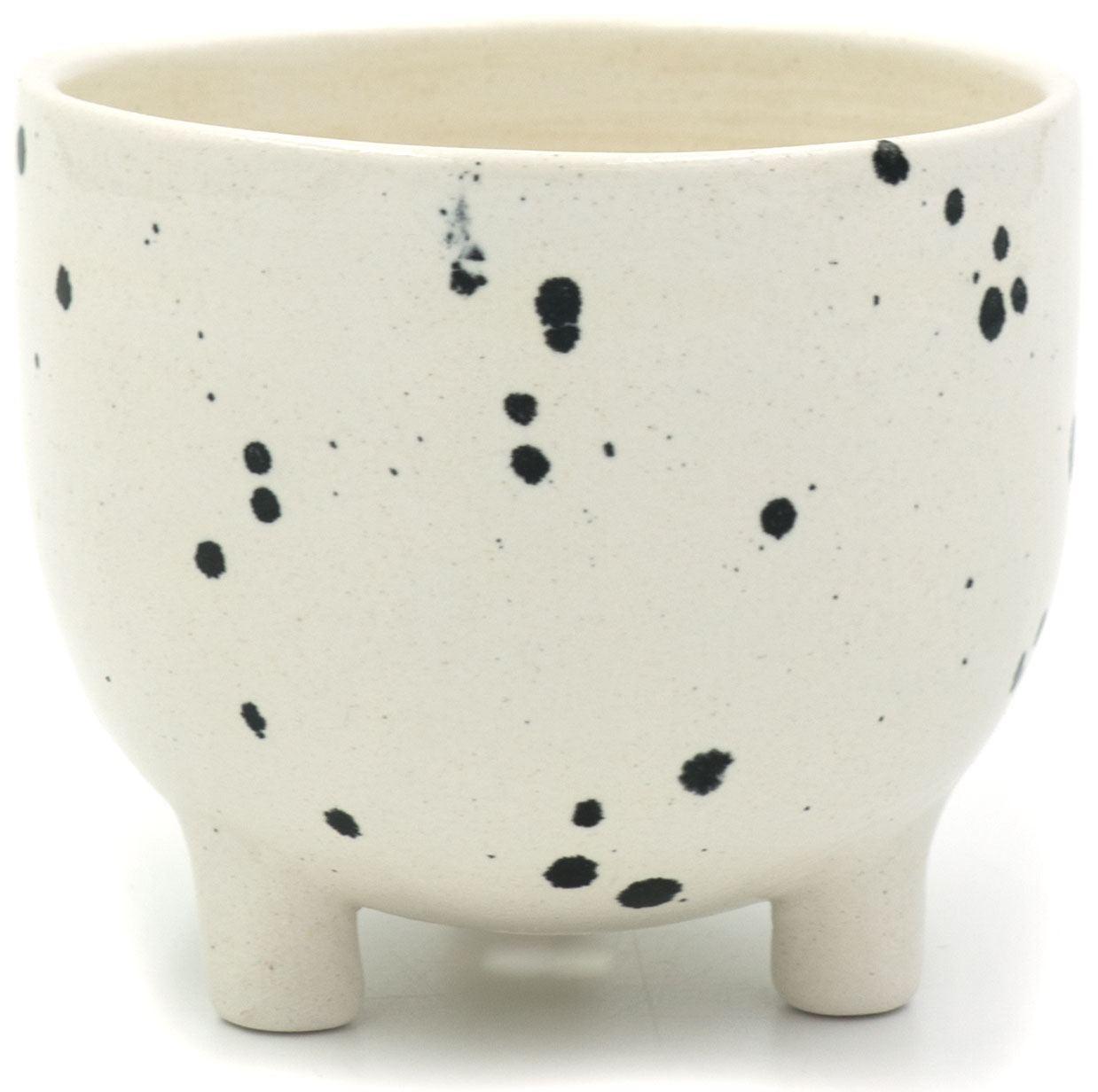 Pot on 3 legs Dalmatiner