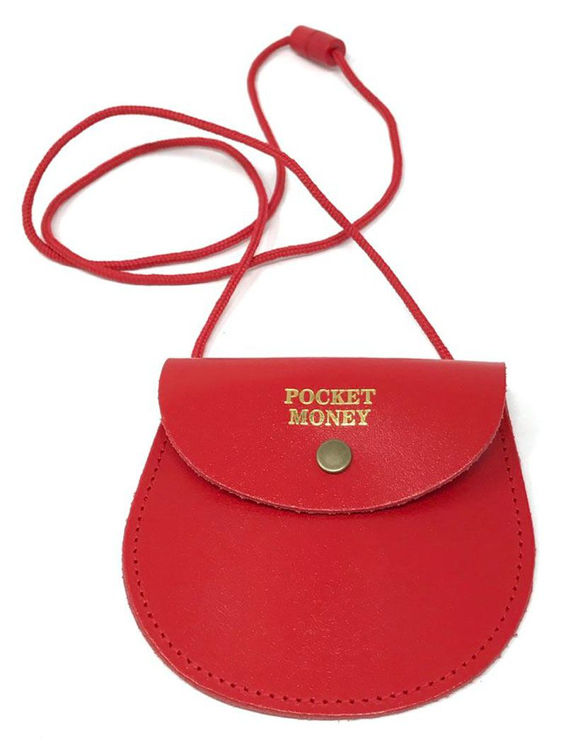 Pocket Money Purse Red