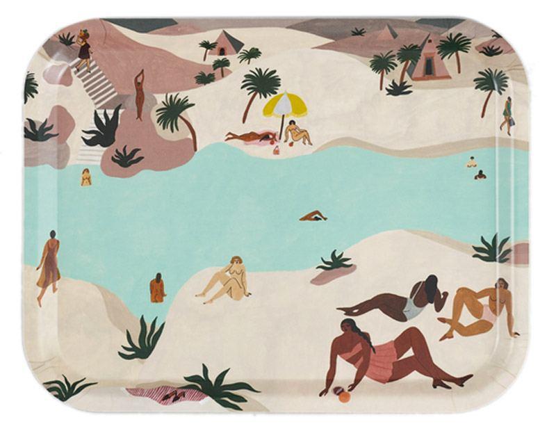 Desert River Tablett