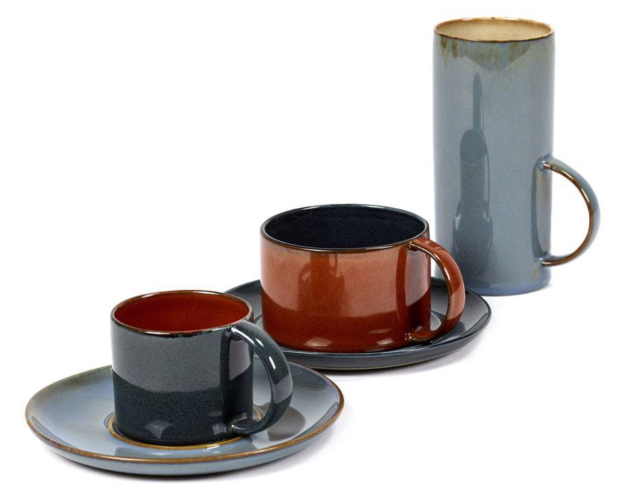 Tasse Dark Blue Rust