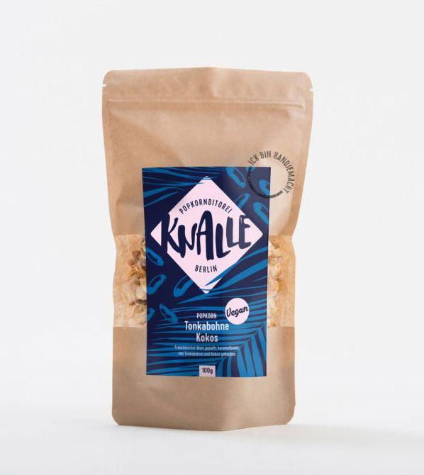 Popcorn Tonkabohne-Kokos (Vegan)