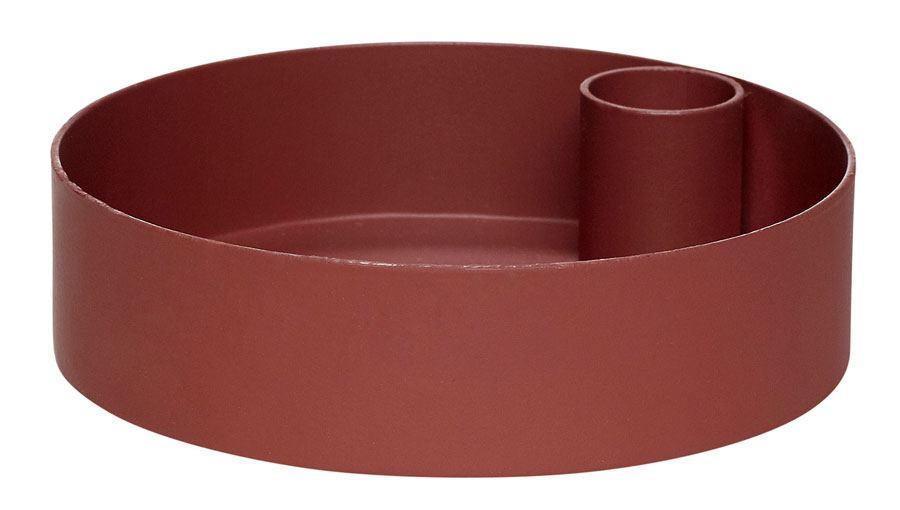 Kerzenhalter Metall Bordeaux No. 2