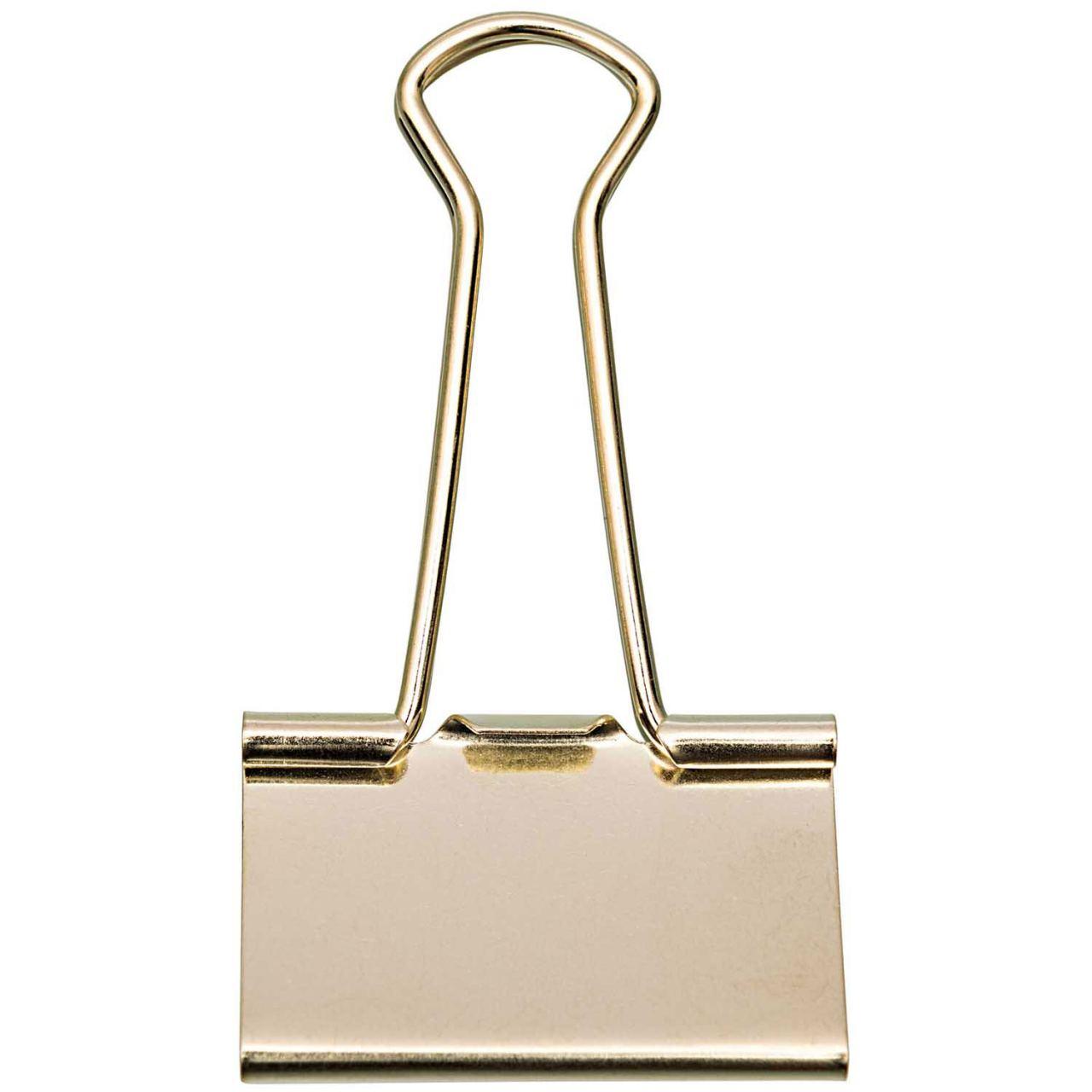 Foldback-Klammer 41 mm Gold