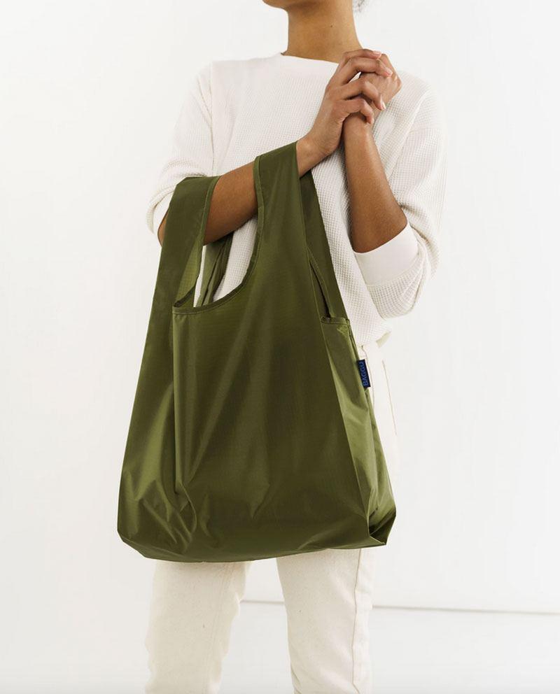 Einkaufsbeutel Olive