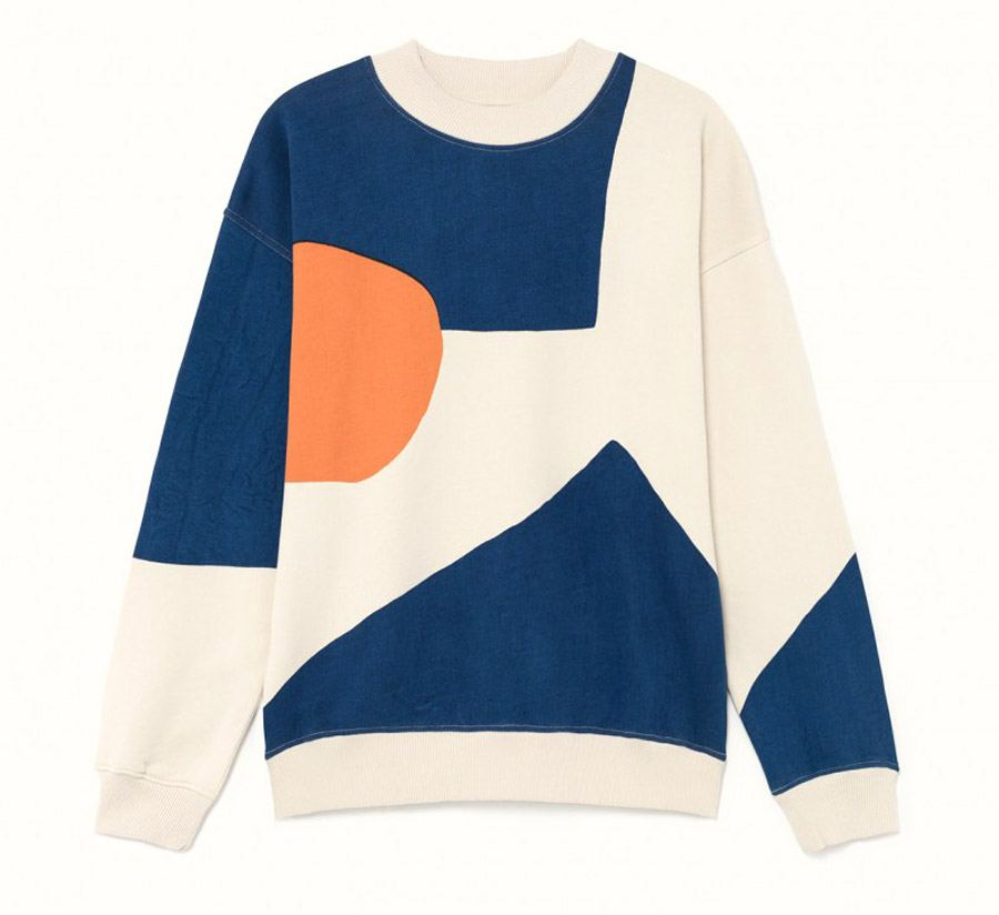 Abstract Fullprinted Sweatshirt