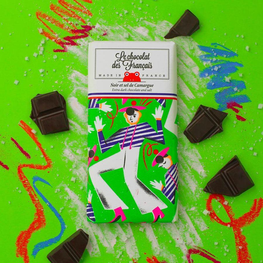 Mime Marceau Dunkle Schokolade mit Salz aus der Camargue