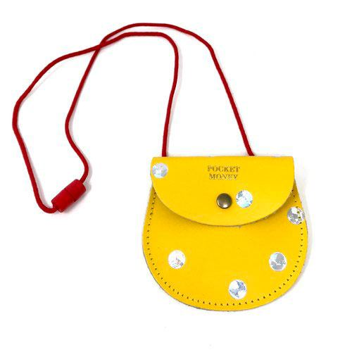 Spot Pocket Money Purse Yellow