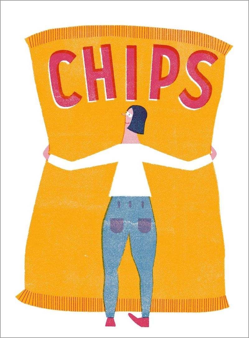 Chips Print (A3)