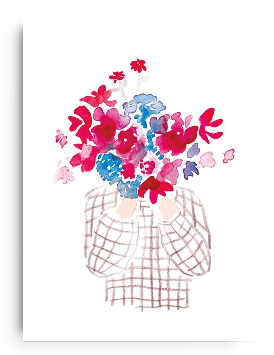 Poster Flowergirl 8 (Din A4)
