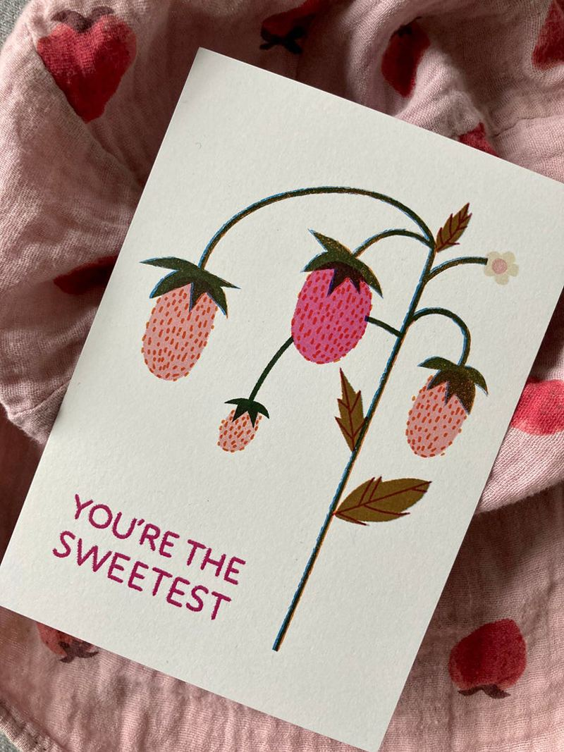 You're the sweetest Postkarte