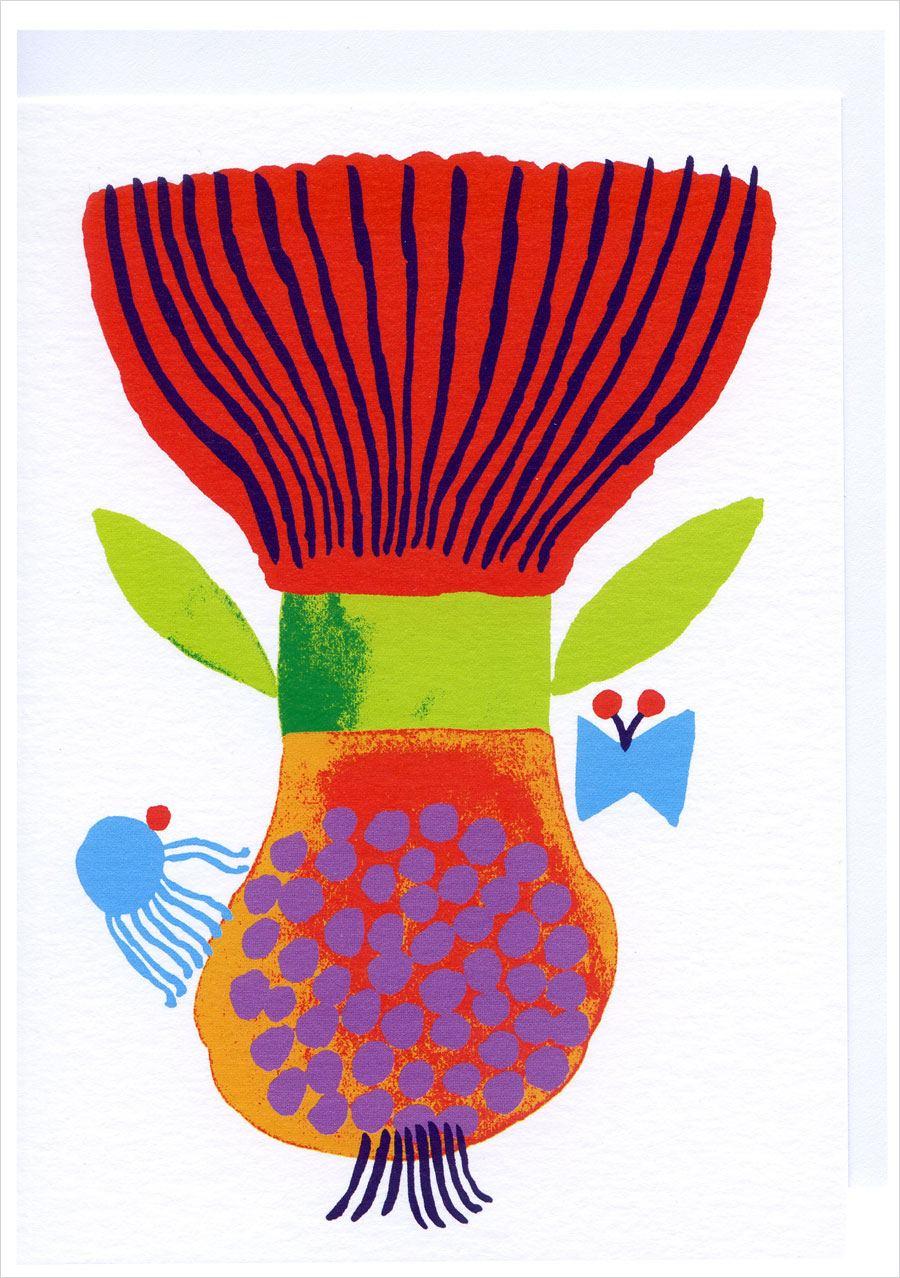 Tulip Karte