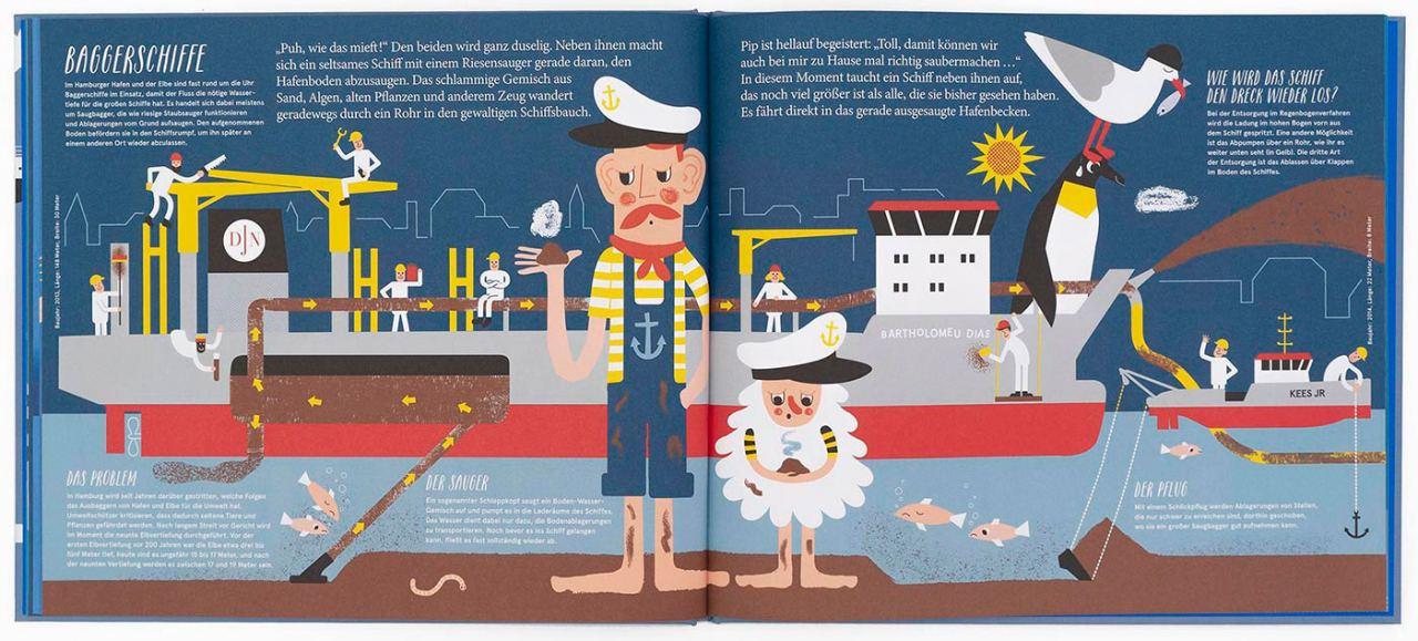 Hamburgs Schiffe: Mit Jan und Jörn auf großer Fahrt