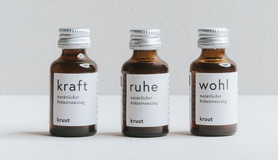 Kraft, Ruhe, Wohl - 3er Set Wildkräuter