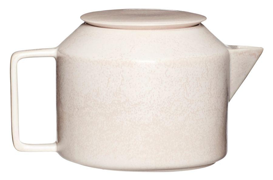 Teekanne Keramik Beige