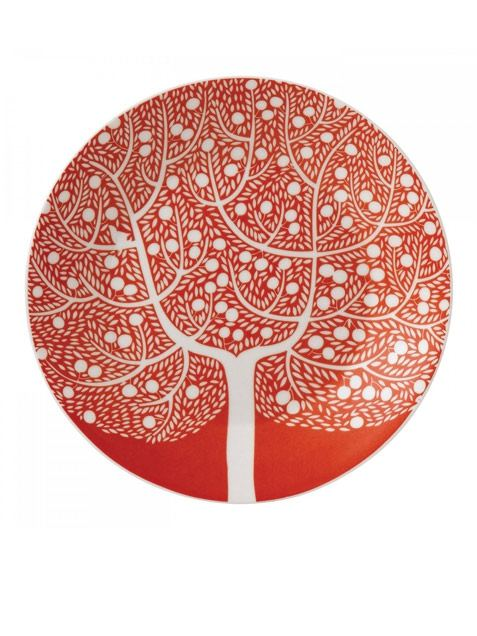 Teller Fable Accent Red Tree #1