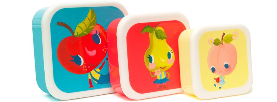 Fruities Lunchbox Set (3St.)