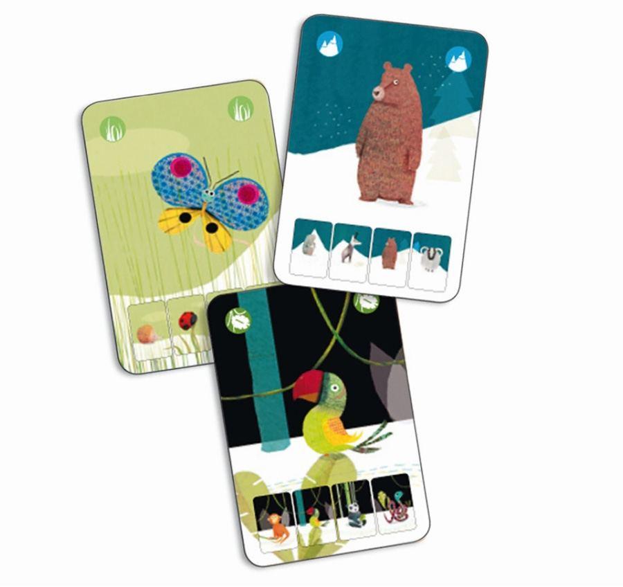 Kartenspiel Mini Nature