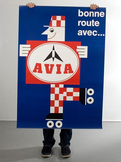 AVIA Plakat (128x90cm)