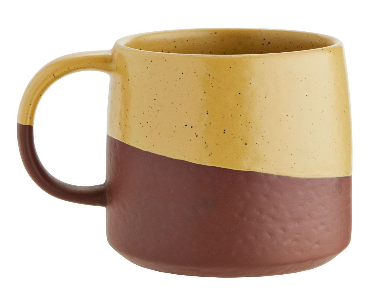 Two Tone Tasse Black Yellow