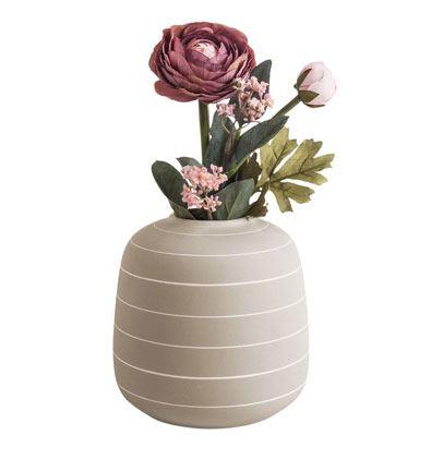 Vase Terra Elfenbein
