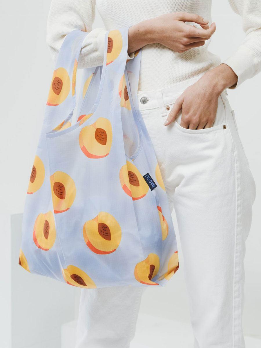 Einkaufsbeutel Peach Print