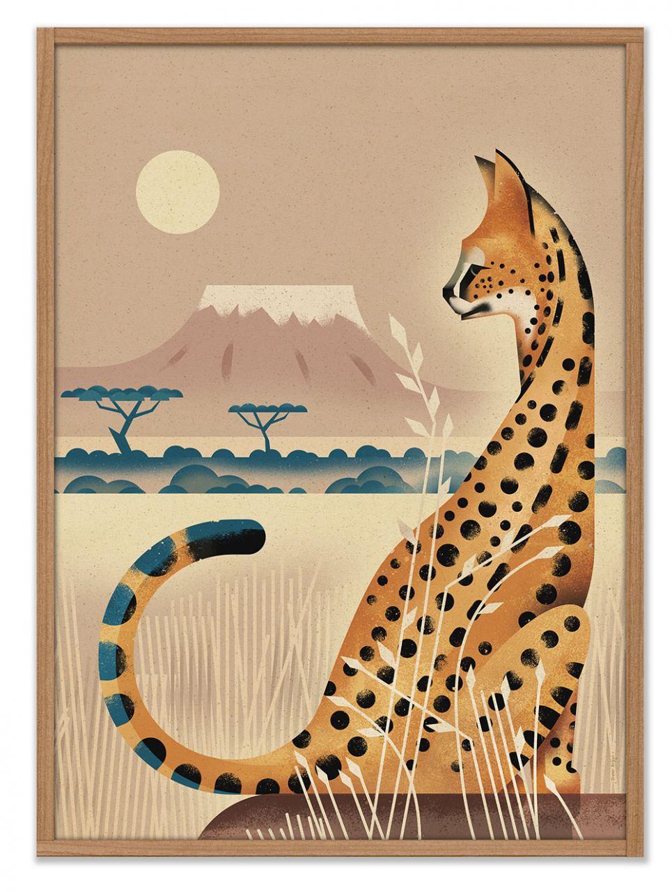 Serval Poster (50 x 70cm)