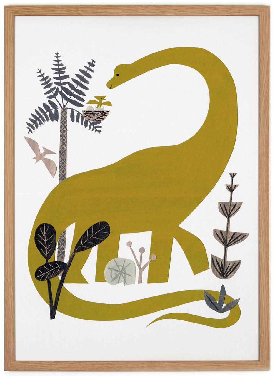 Dinosaur Poster (50 x 70 cm)