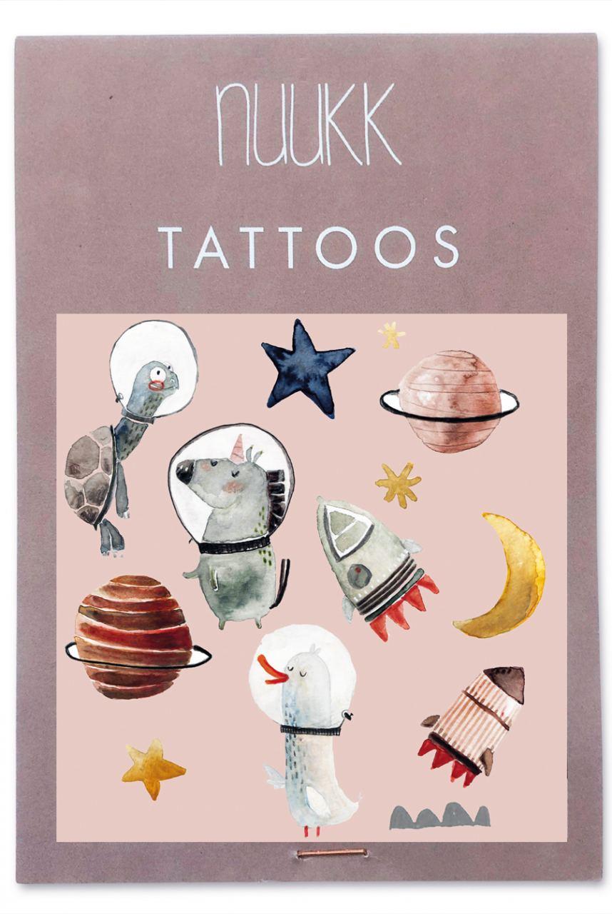 "Organic Tattoos ""Space"""