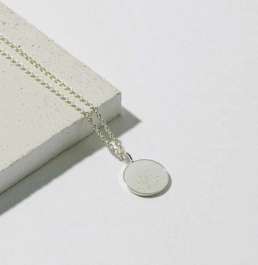 Kette 925 Silber Weiss 13mm