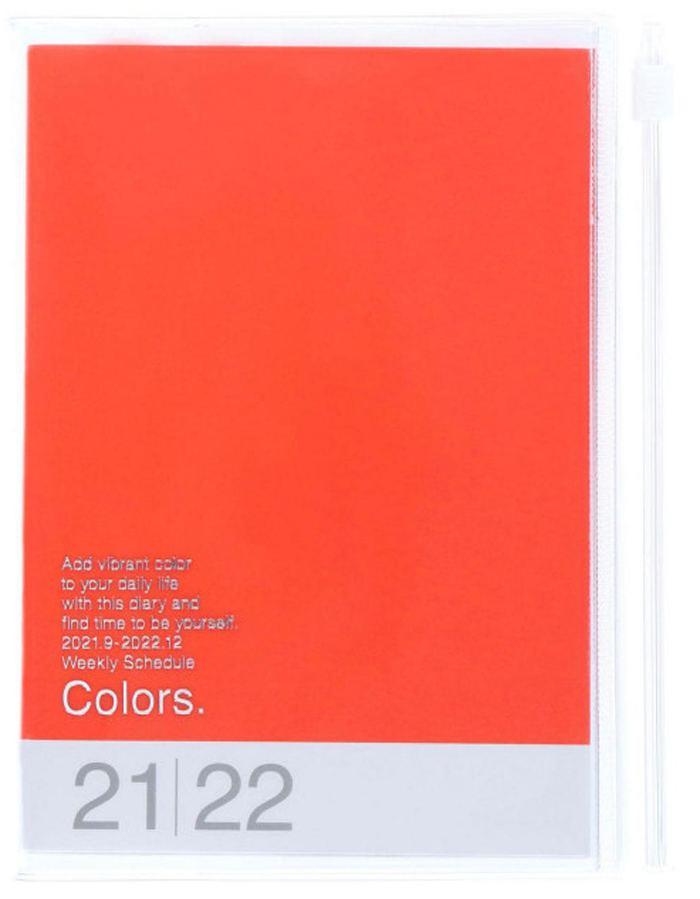 2022 Taschenkalender A6 Storage.it Orange