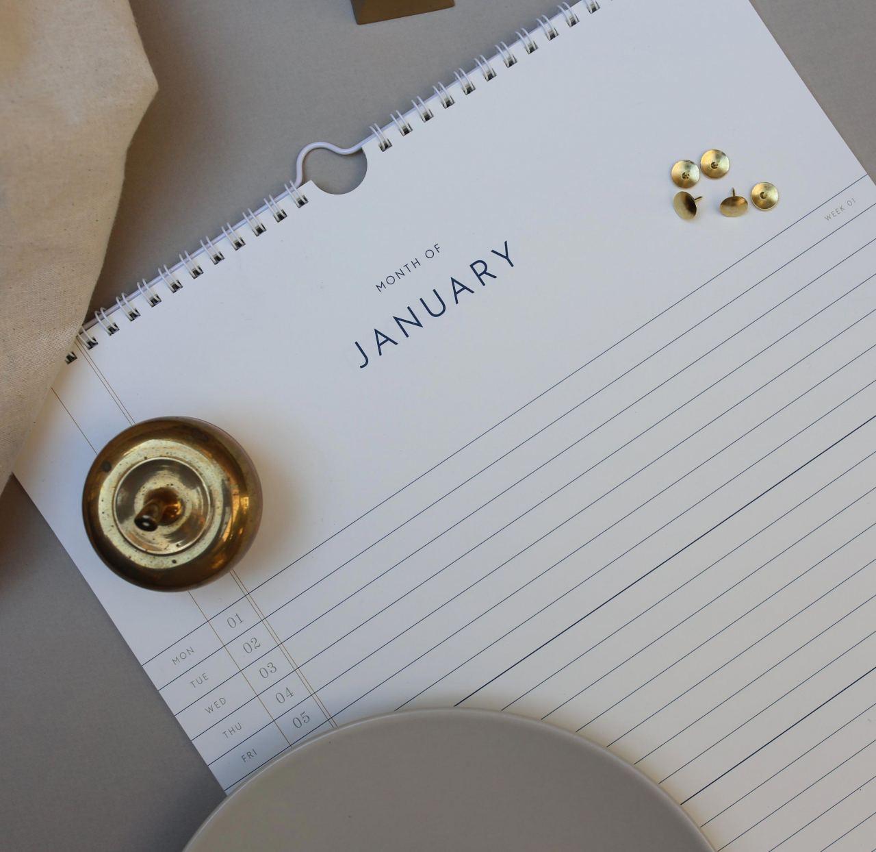 Kartotek Wandkalender 2019