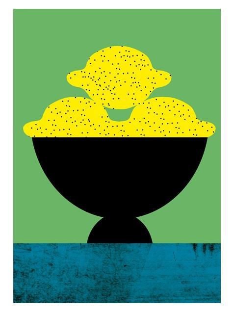 Lemon Karte Din A5