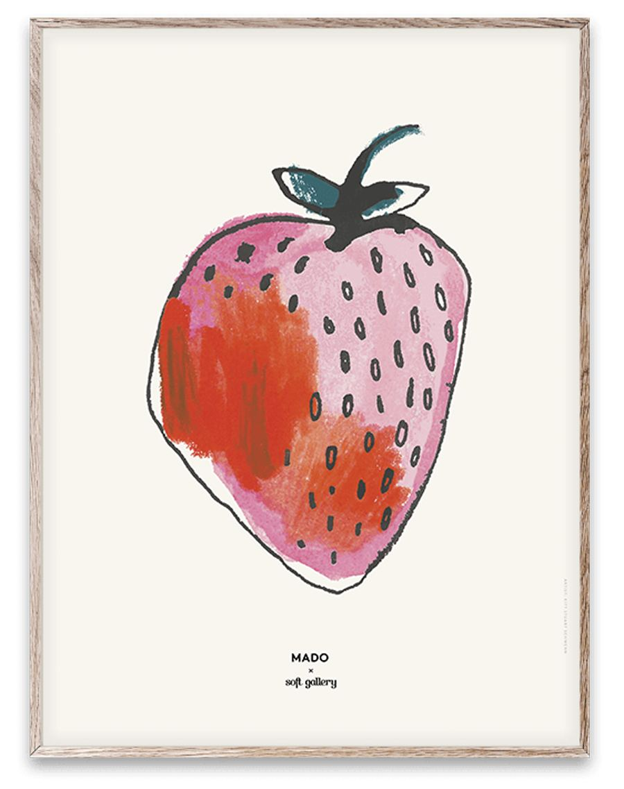 Strawberry Print (30x40cm)