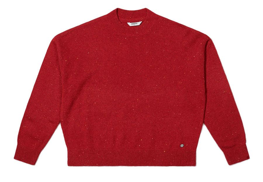 Frankie Strickpullover Red Nep