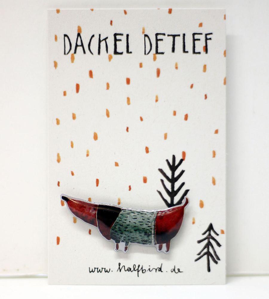 Pin Dackel Detlef