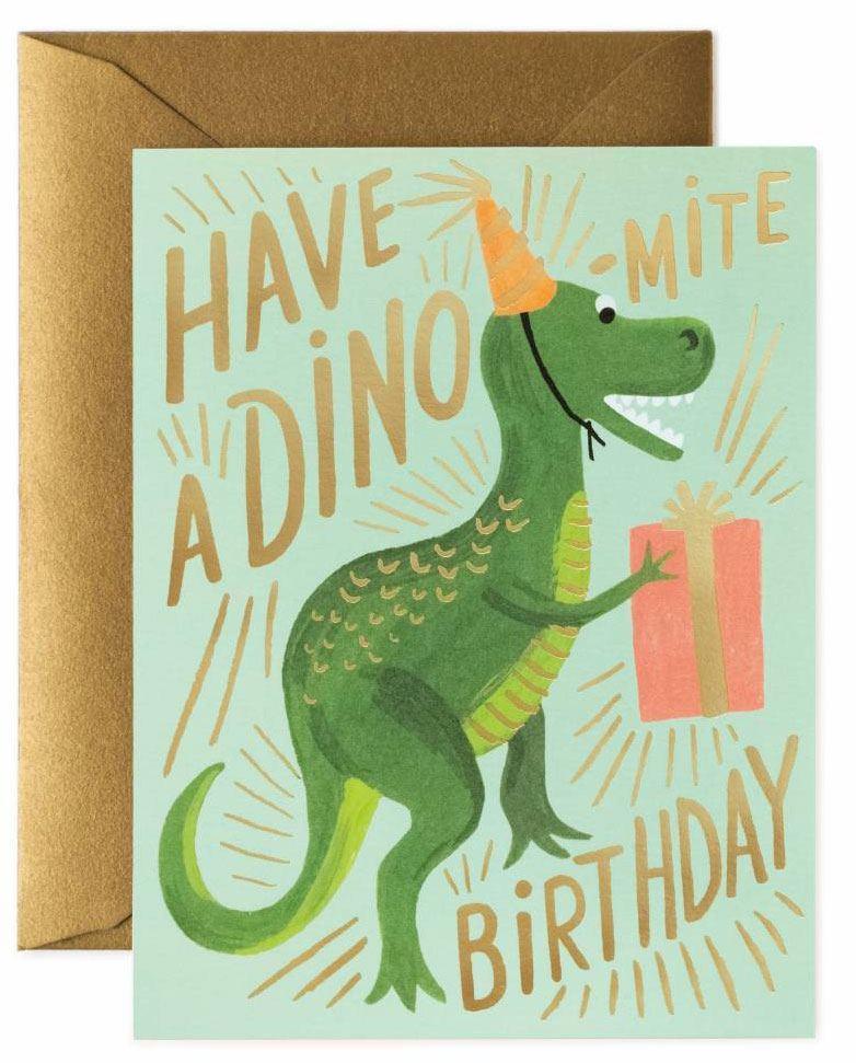 Dino-Mite Birthday Klappkarte