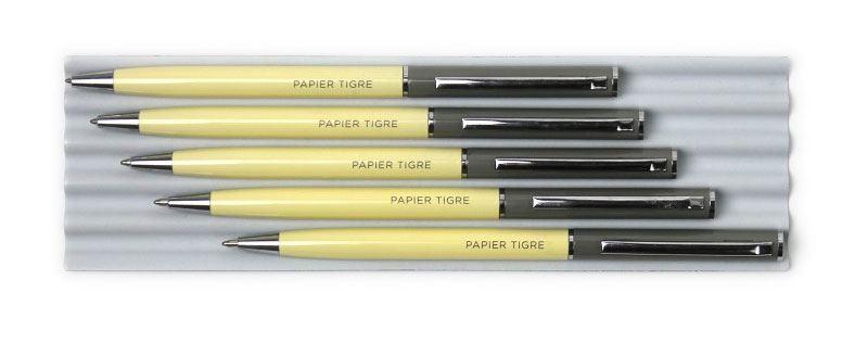 Papier Tigre Kugelschreiber Straw Concrete
