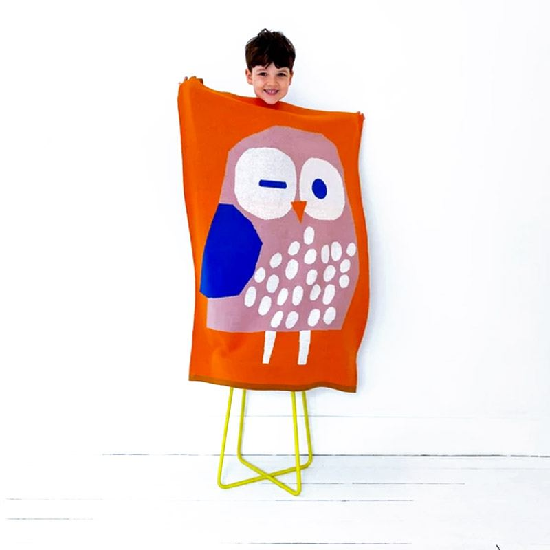 Sophie Home x Prints by KA Babydecke Eule