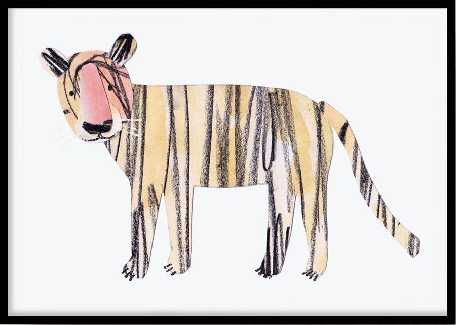 Poster Tiger (30x40cm)