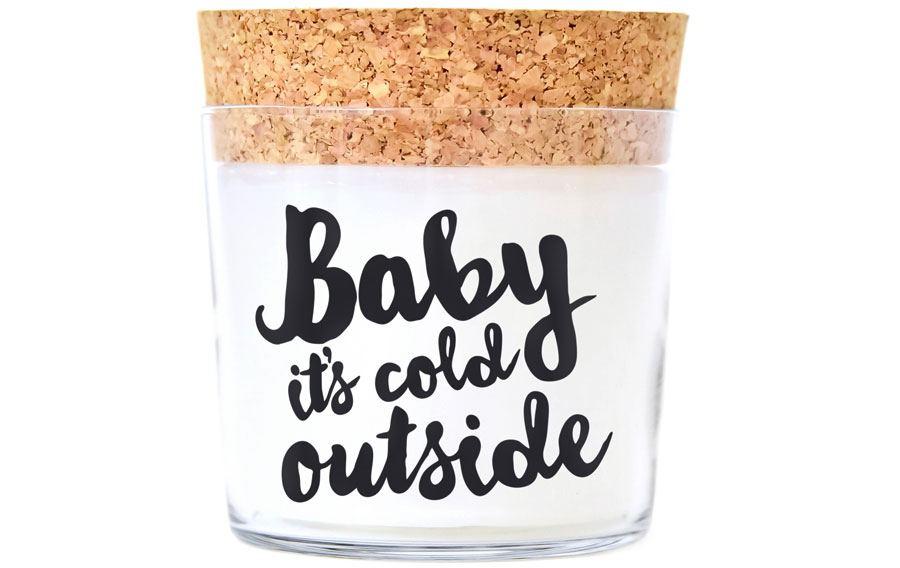 Duftkerze Baby it's cold outside